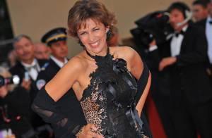Corinne Touzet : mais c'est quoi cette robe ?