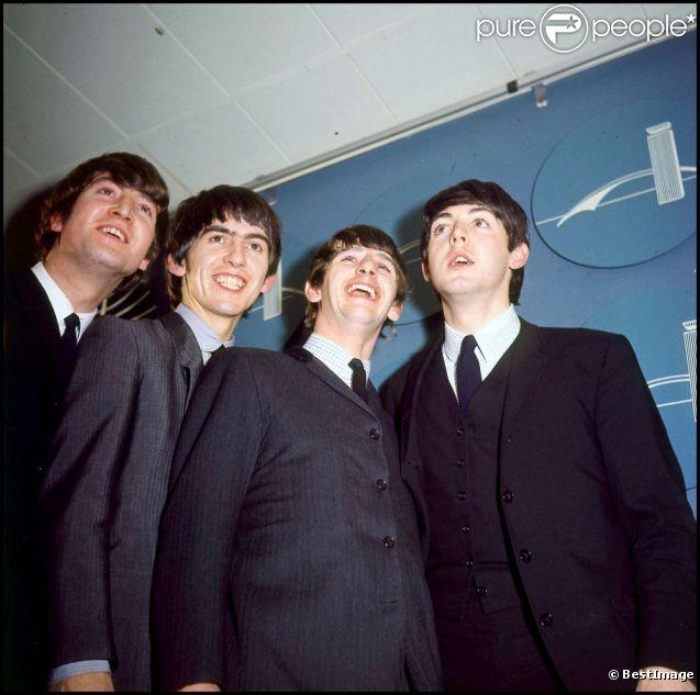 Les Beatles, en juin 1964.