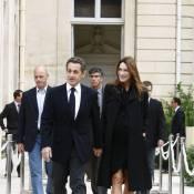 Carla Bruni-Sarkozy, maman d'une petite fille !