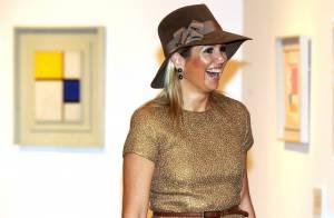 La princesse Maxima se frotte à Mondrian