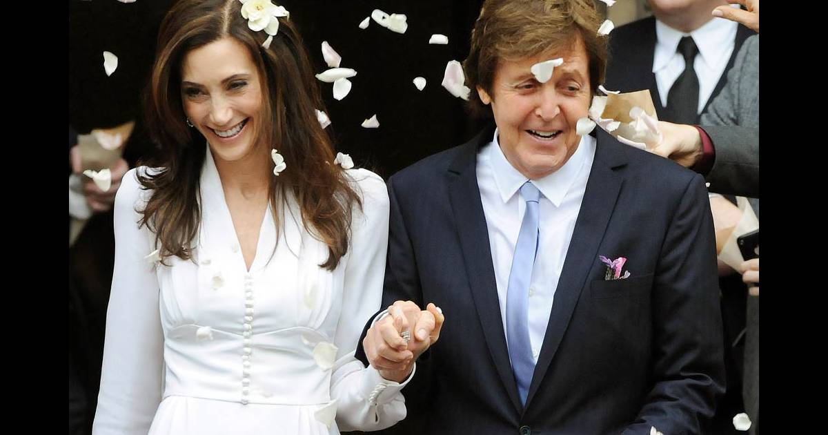 paul mccartney et nancy shevell se sont mari s en beaut purepeople. Black Bedroom Furniture Sets. Home Design Ideas