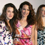 Andie MacDowell et Bruce Willis, auprès de leurs filles, des ''débutantes''
