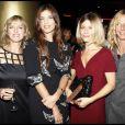 Maiwenn et ses actrices Marina Foïs, Karin Viard et Sandrine Kiberlain.