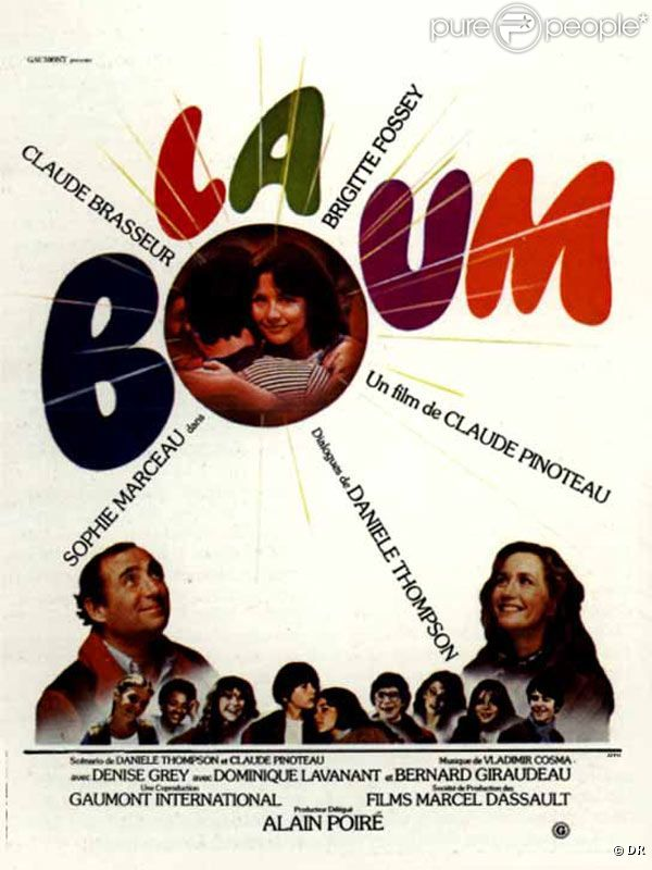 l 39 affiche du film la boum. Black Bedroom Furniture Sets. Home Design Ideas