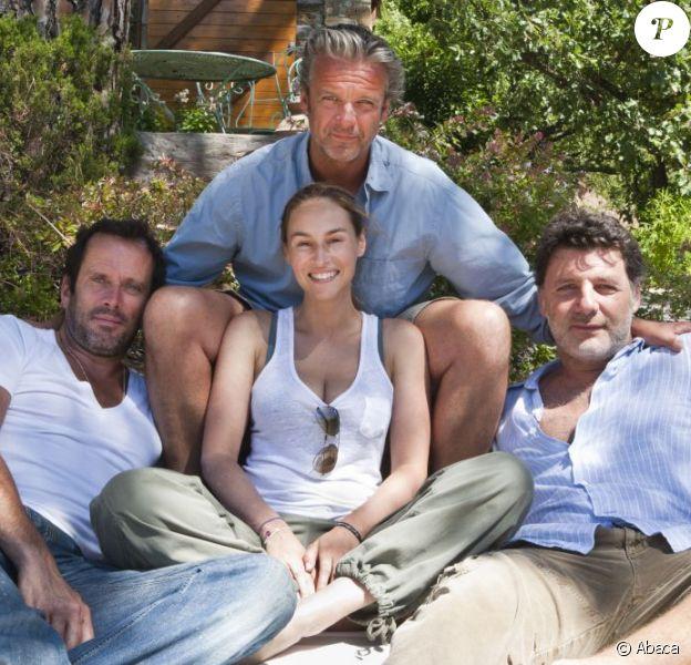 Vanessa Demouy, David Brécourt, Christian Vadim et Philippe Lellouche en 2010.
