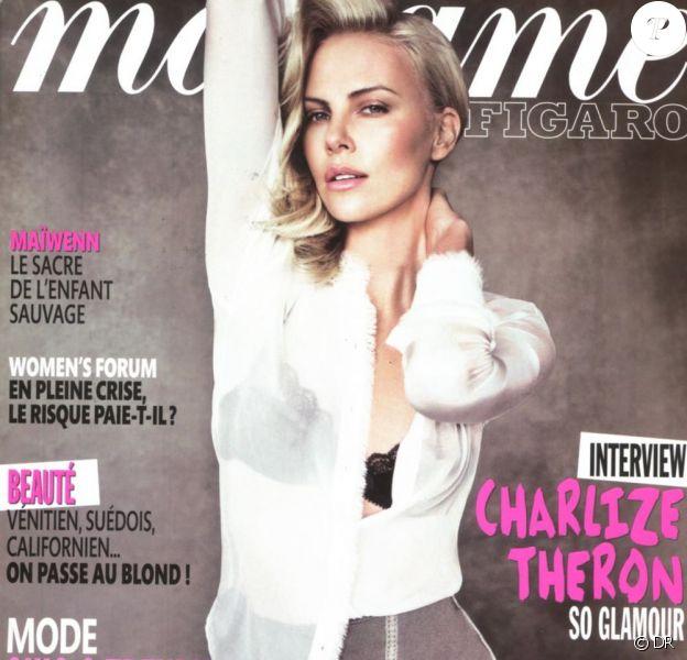 La couverture de Madama Figaro.