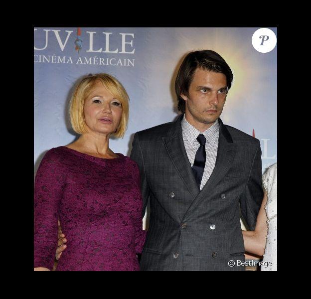 Ellen Barkin et Sam Levinson au festival de Deauville lors de la présentation du film Another Happy Day en septembre 2011