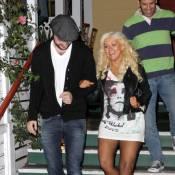 Christina Aguilera : Sortie sans pantalon et trop maquillée, ça ne s'arrange pas