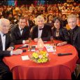 Jean Amadou en avril 2008 dans Le plus grand cabaret du monde. Avec Patrick Sébastien, Bernard Montiel, Isabelle Alonso et Plastic Bertrand