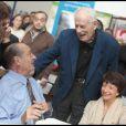 Jean Amadou avec Jacques Chirac en novembre 2009