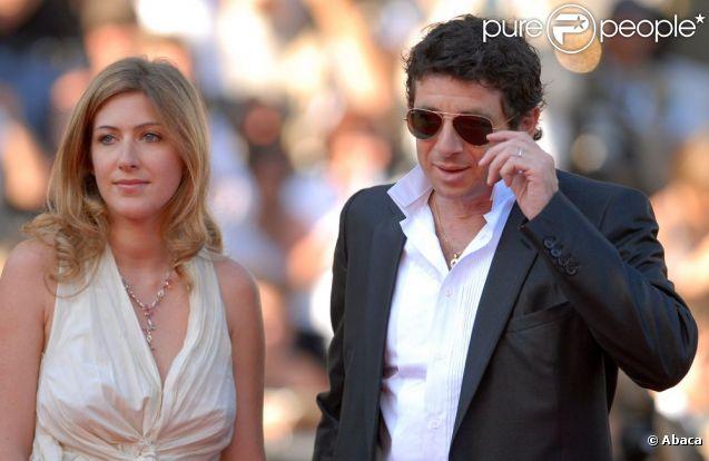 Amanda Sthers et Patrick Bruel à Cannes, en mai 2007.