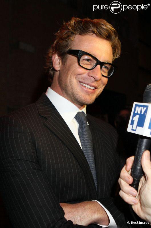 Simon Baker, le 17 octobre 2011 à New York.