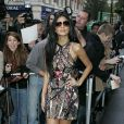 La chanteuse Nicole Scherzinger était de passage dans les locaux de la radio BBC One. A Londres, le 28 octobre 2011.