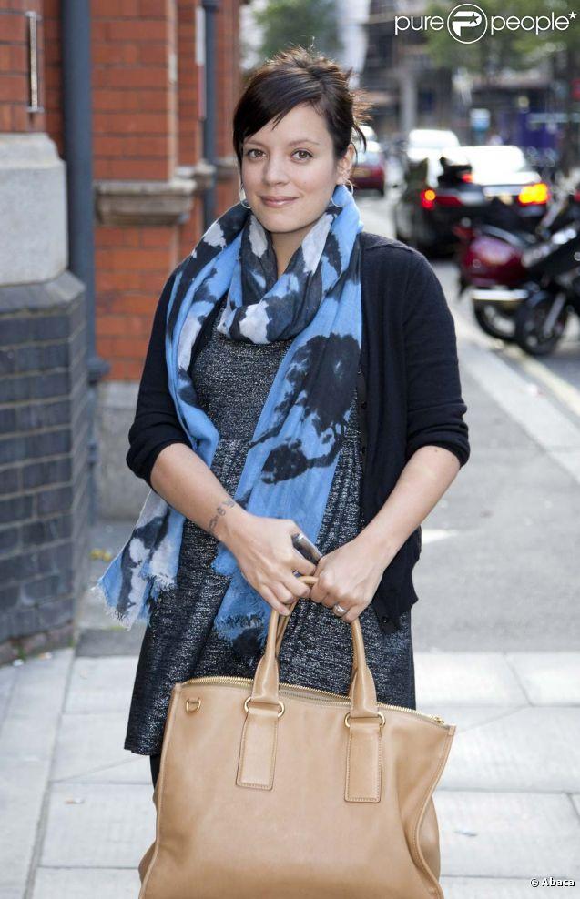 Lily Allen à Londres, le 28 juillet 2011.