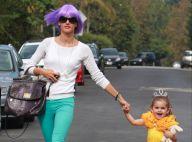 Alessandra Ambrosio : métamorphosée pour fêter Halloween avec sa princesse Anja