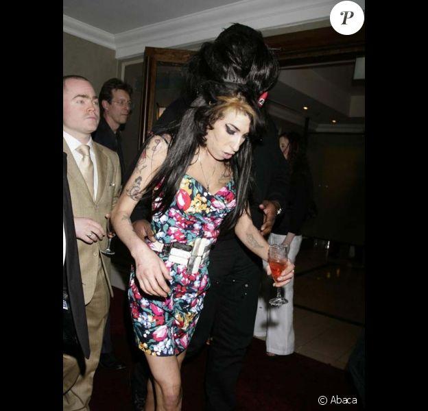 Amy Winehouse a encore fait des siennes...
