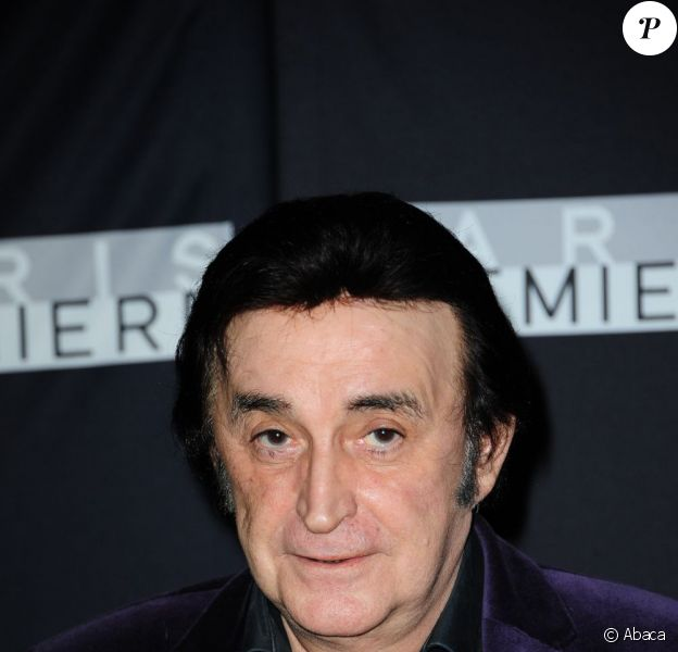 Dick Rivers en septembre 2011 à Paris