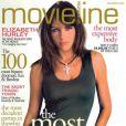 Elizabeth Hurley, définie comme la star la plus déterminée et résistante au monde par MovieLine. Novembre 2002.