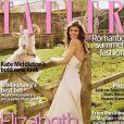 L'actrice Elizabeth Hurley dévoile au magazine Tatler sa vie dans la campagne anglaise. Juin 2009.