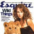 Juillet 1997 : Elizabeth Hurley se transforme en bête sauvage pour le magazine masculin Esquire.