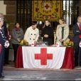 Letizia d'Espagne lors de la journée de la Croix-Rouge à Madrid, le 3 novembre 2011