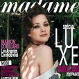 Marion Cotillard en couverture de Madame Figaro du 4 novembre 2011