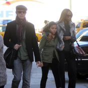 David Bowie et sa superbe femme Iman couvent leur fille Alexandria