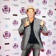 David Hasselhoff arrive aux MTV Europe Music Awards 2011 à Belfast, le 6 novembre 2011