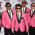 Bruno Mars arrive aux MTV Europe Music Awards 2011 à Belfast, le 6 novembre 2011