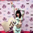 Jessie J dans la press room des MTV Europe Music Awards, à Belfast, le 6 novembre 2011.
