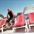 Paul Tomaselli en 2001, le propriétaire de La mythique plage de la Voile Rouge