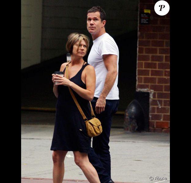 Dylan Walsh et sa nouvelle compagne à Los Angeles en juillet 2011