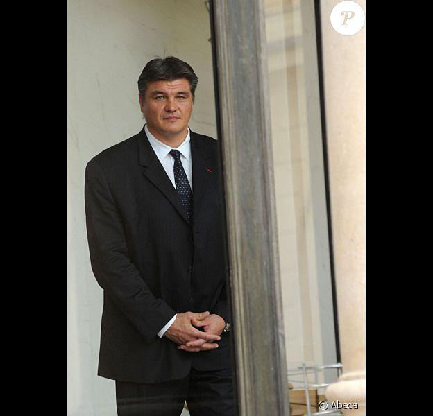 David Douillet, le 27 septembre 2011 à Paris