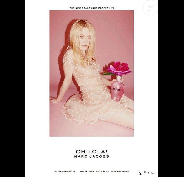 La publicité du parfum Oh, Lola ! de Marc Jacobs, objet du scandale.
