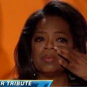 """Oprah Winfrey, oscarisée et émue aux larmes : """"On me voyait femme de ménage"""""""