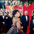 Oprah Winfrey aux Oscars en 1995