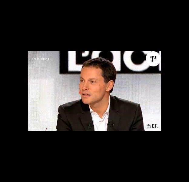 Marc-Olivier Fogiel sur le plateau de Face à l'actu sur M6, le dimanche 13 novembre.