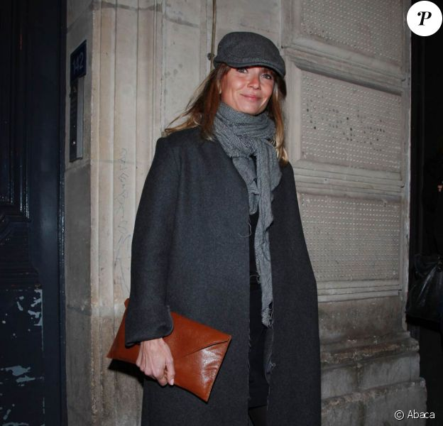 Axelle Laffont lors du 35e anniversaire du magazine Premiere, le 14 novembre 2011, au Silencio, à Paris.