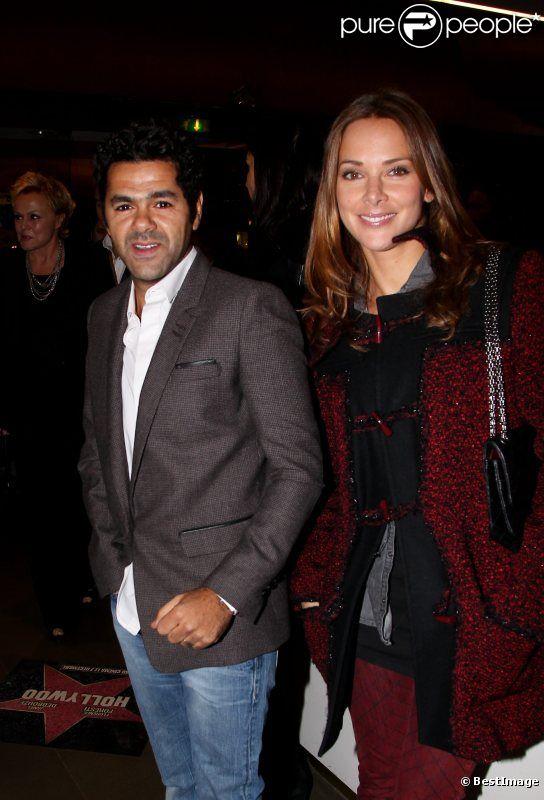 Jamel Debbouze et Mélissa Theuriau lors de l'avant-première du film Hollywoo à Paris le 21 novembre 2011