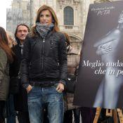 Elisabetta Canalis : Transformée en garçon, elle reste toujours aussi sexy