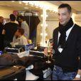 """Steevy Boulay lors de la soirée """"Europe 1 fait Bobino"""" à Paris, le 28 novembre 2011"""