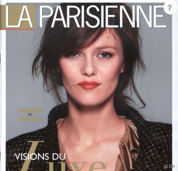Couverture de La Parisienne, avec Vanessa Paradis