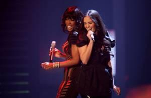 Kelly Rowland : Déchaînée sur scène avec son amie Mel C, un duo très sexy
