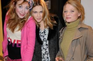 Julie Depardieu, Mélanie Thierry, fraîches beautés en plein coeur de Paris