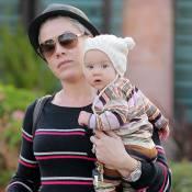 Pink : Sortie entre filles avec sa sublime petite Willow
