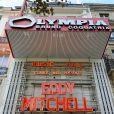 Eddy Mitchell à l'Olympia pour ses adieux, le 5 septembre 2011.