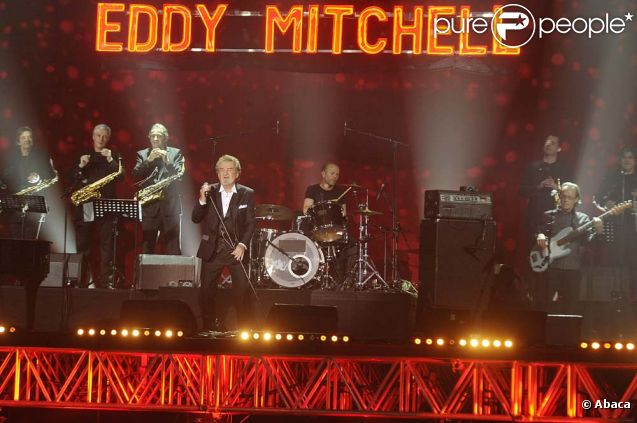 Eddy Mitchell aux Victoires de la musique, à Paris, le 1er mars 2011.