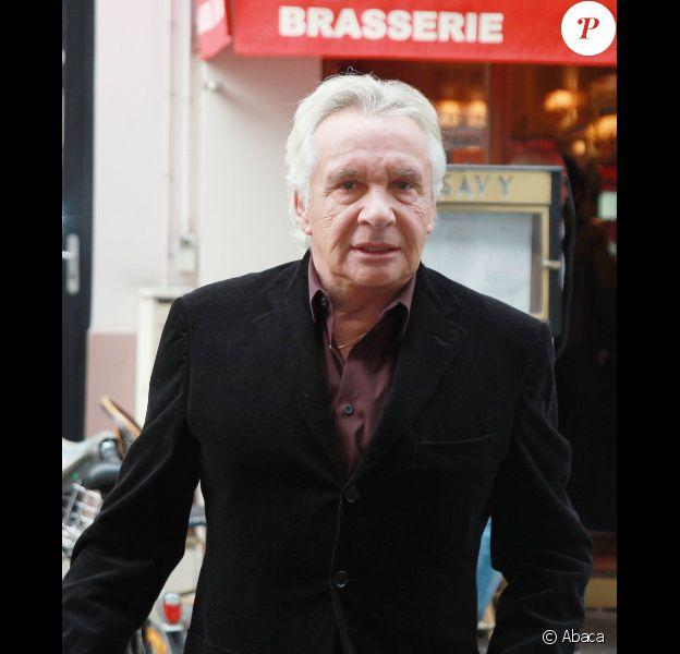 Michel Sardou le 17 octobre 2011