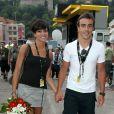 Fernando Alonso et Raquel del Rosario (photo : en juillet 2009), mariés en novembre 2006, ont annoncé leur séparation le 20 décembre 2011.