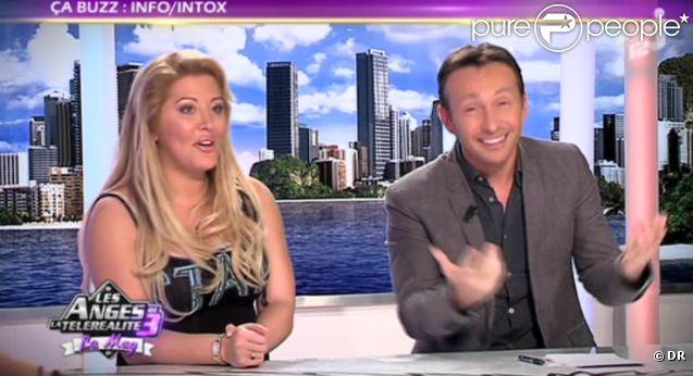 Loana amincie et Stéphane Joffre-Roméas dans les Anges de la télé-réalité 3, vendredi 25 novembre 2011, sur NRJ 12